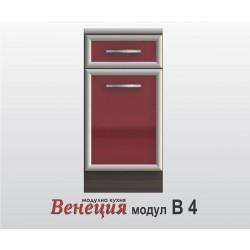 Долен шкаф с врата и чекмедже - Венеция В4