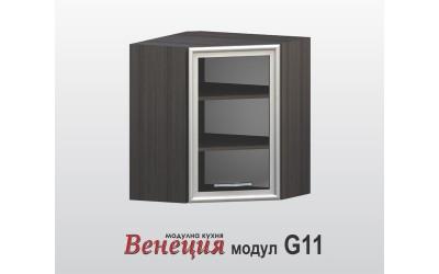 Горен шкаф за ъгъл - Венеция G11