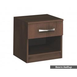 Нощно шкафче Аполо 1 - Венге Амбър