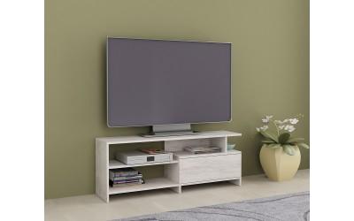 ТВ шкаф Алфа 70 - Дъб бланко