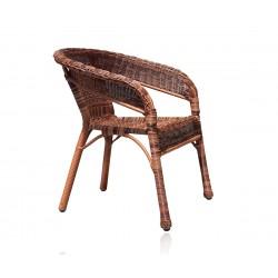 Ратанов градински стол Havana - Кафяв микс