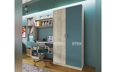 City 5011 - секция с бюро и гардероб