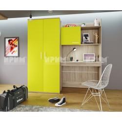 Секция Сити 5014 - бюро и гардероб