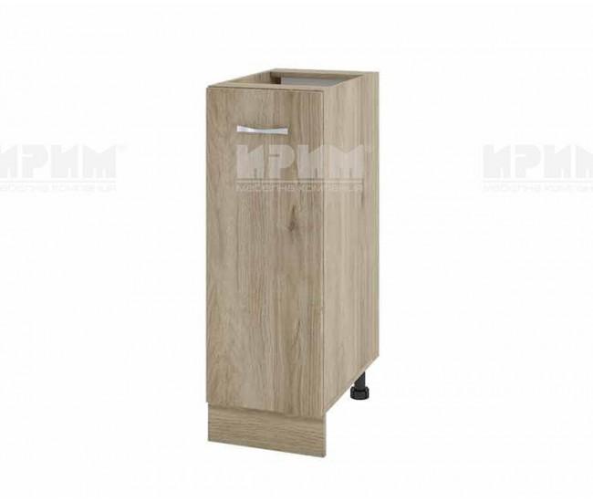 Долен кухненски шкаф Сити АРДА-20 с врата и рафт - 30 см. - сонома арвен