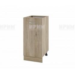 Долен кухненски шкаф Сити АРДА-21 с врата и рафт - 40 см. - сонома арвен