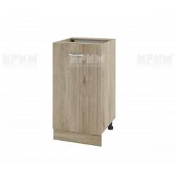 Долен кухненски шкаф Сити АРДА-28 с врата и рафт - 45 см. - сонома арвен