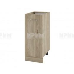 Долен кухненски шкаф Сити АРДА-40 с врата и рафт - 35 см. - сонома арвен