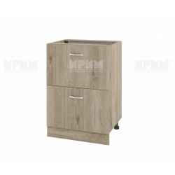 Долен кухненски шкаф Сити АРДА-44 с две чекмеджета - 60 см. - сонома арвен
