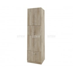 Колонен кухненски шкаф Сити АРДА-48 за фурна и микровълнова печка - 60 см. - сонома арвен