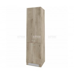 Колонен кухненски шкаф Сити АРДА-50 за хладилник - 60 см. - сонома арвен