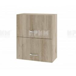 Горен кухненски шкаф Сити АРДА-11 с хоризонтални врати - 60 см. - сонома арвен