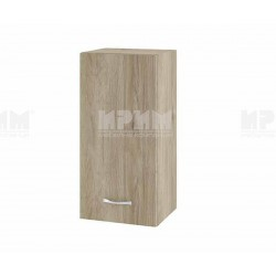 Горен кухненски шкаф Сити АРДА-16 с врата и рафт - 35 см. - сонома арвен
