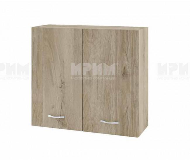 Горен кухненски шкаф Сити АРДА-4 с две врати - 80 см. - сонома арвен