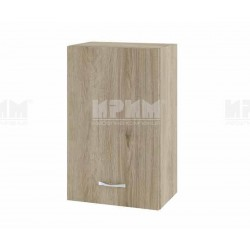 Горен кухненски шкаф Сити АРДА-6 с врата и рафт - 45 см. - сонома арвен