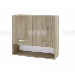 Горен кухненски шкаф Сити АРДА-8 с две врати - 80 см. - сонома арвен