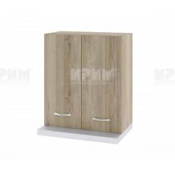 Горен кухненски шкаф Сити АРДА-13 за аспиратор - 60 см. - сонома арвен