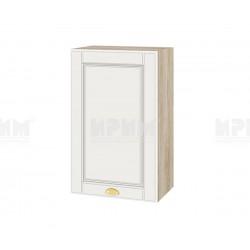 Кухненски горен шкаф Сити АРФ-Бяло мат-09-6 МДФ - 45 см.