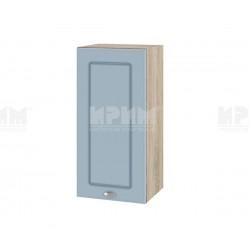 Кухненски горен шкаф Сити АРФ-Деним мат-06-16 МДФ - 35 см.