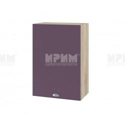 Кухненски горен шкаф Сити АРФ-Лилаво мат-05-18 МДФ - 50 см.