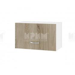 Горен кухненски шкаф Сити БДА-15 с хоризонтална врата - 60 см. - сонома арвен/бяло гладко