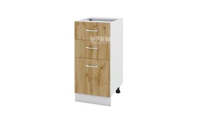 Шкаф Сити БДД-127 с две чекмеджета и врата