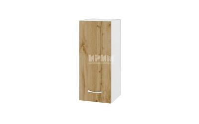 Горен шкаф Сити БДД-101 с врата и рафт