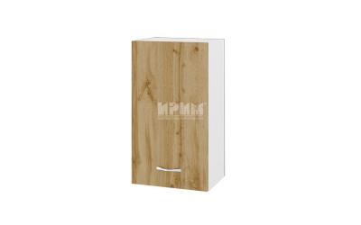 Горен кухненски шкаф Сити БДД-2 с врата и рафт - 40 см.