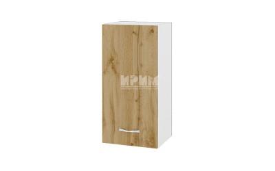 Горен шкаф Сити БДД-116 с врата и рафт
