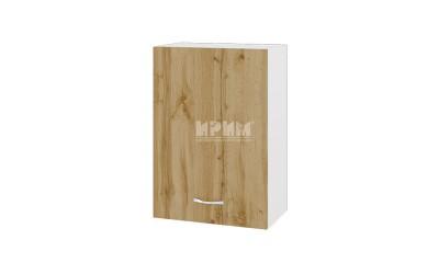 Горен кухненски шкаф Сити БДД-18 с врата и рафт - 50 см.