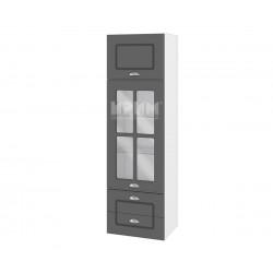 Кухненски горен шкаф Сити БФ-Цимент мат-06-101 МДФ - 40 см.
