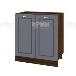 Кухненски долен шкаф Сити ВФ-Цимент мат-06-23 МДФ - 80 см.