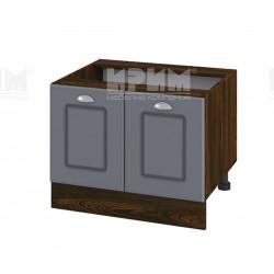 Кухненски долен шкаф за печка Раховец Сити ВФ-Цимент мат-06-32 - 60 см.