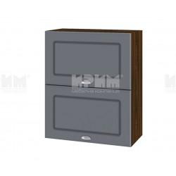 Кухненски горен шкаф Сити ВФ-Цимент мат-06-11 МДФ - 60 см.