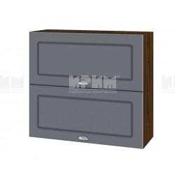 Кухненски горен шкаф Сити ВФ-Цимент мат-06-12 МДФ - 80 см.