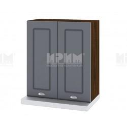 Кухненски горен шкаф за аспиратор Сити ВФ-Цимент мат-06-13 МДФ - 60 см.