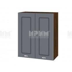 Кухненски горен шкаф Сити ВФ-Цимент мат-06-3 - 60 см.