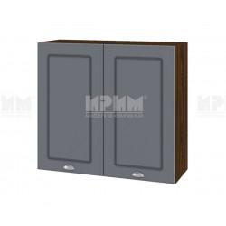 Кухненски горен шкаф Сити ВФ-Цимент мат-06-4 - 80 см.
