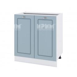 Кухненски долен шкаф Сити БФ-Деним мат-06-23 МДФ - 80 см.