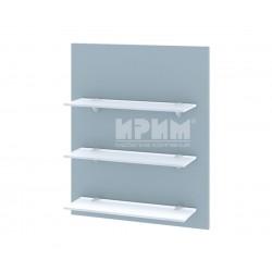 Кухненска етажерка за стена Сити Ф-Деним мат-06-106 МДФ - 60 см.