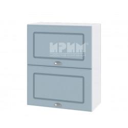 Кухненски горен шкаф Сити БФ-Деним мат-06-11 МДФ - 60 см.
