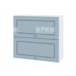 Кухненски горен шкаф Сити БФ-Деним мат-06-12 МДФ - 80 см.