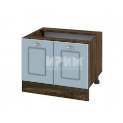 Кухненски долен шкаф за печка Раховец Сити ВФ-Деним мат-06-32 - 60 см.