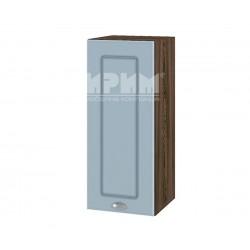 Кухненски горен шкаф Сити ВФ-Деним мат-06-1 МДФ - 30 см.