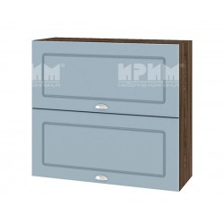 Кухненски горен шкаф Сити ВФ-Деним мат-06-12 МДФ - 80 см.