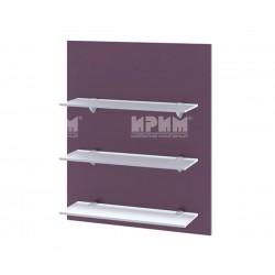 Кухненска етажерка за стена Сити Ф-Лилаво мат-05-106 МДФ - 60 см.