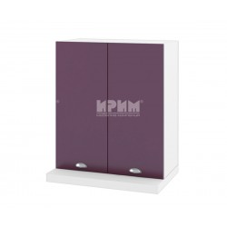 Кухненски горен шкаф за аспиратор Сити БФ-Лилаво мат-05-13 МДФ - 60 см.