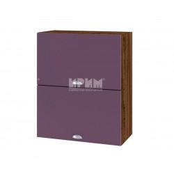 Кухненски горен шкаф Сити ВФ-Лилаво мат-05-11 МДФ - 60 см.