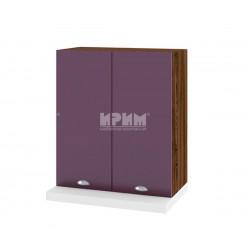 Кухненски горен шкаф за аспиратор Сити ВФ-Лилаво мат-05-13 МДФ - 60 см.
