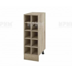 Кухненски шкаф бутилиера Сити АР-47 - 30 см.