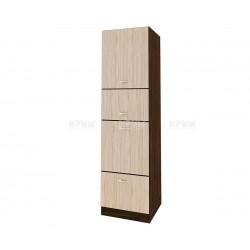 Колонен кухненски шкаф Сити ВА - 48 за фурна и микровълнова печка - 60 см.